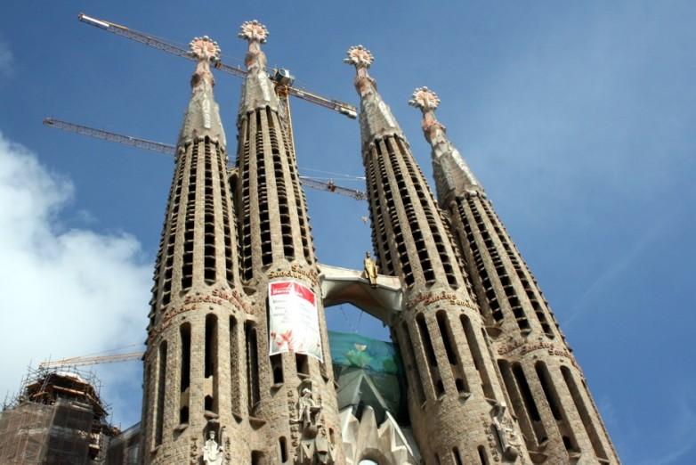 Gaudi La Sagrada Familia 01