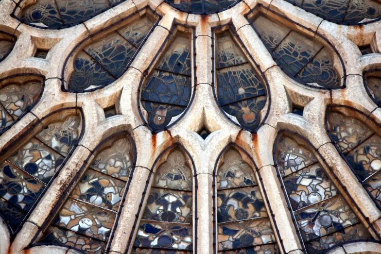 Roseton Catedral de León 03