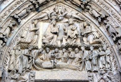 Timpano Catedral de Leon 04