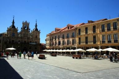 Plaza Mayor de Astorga