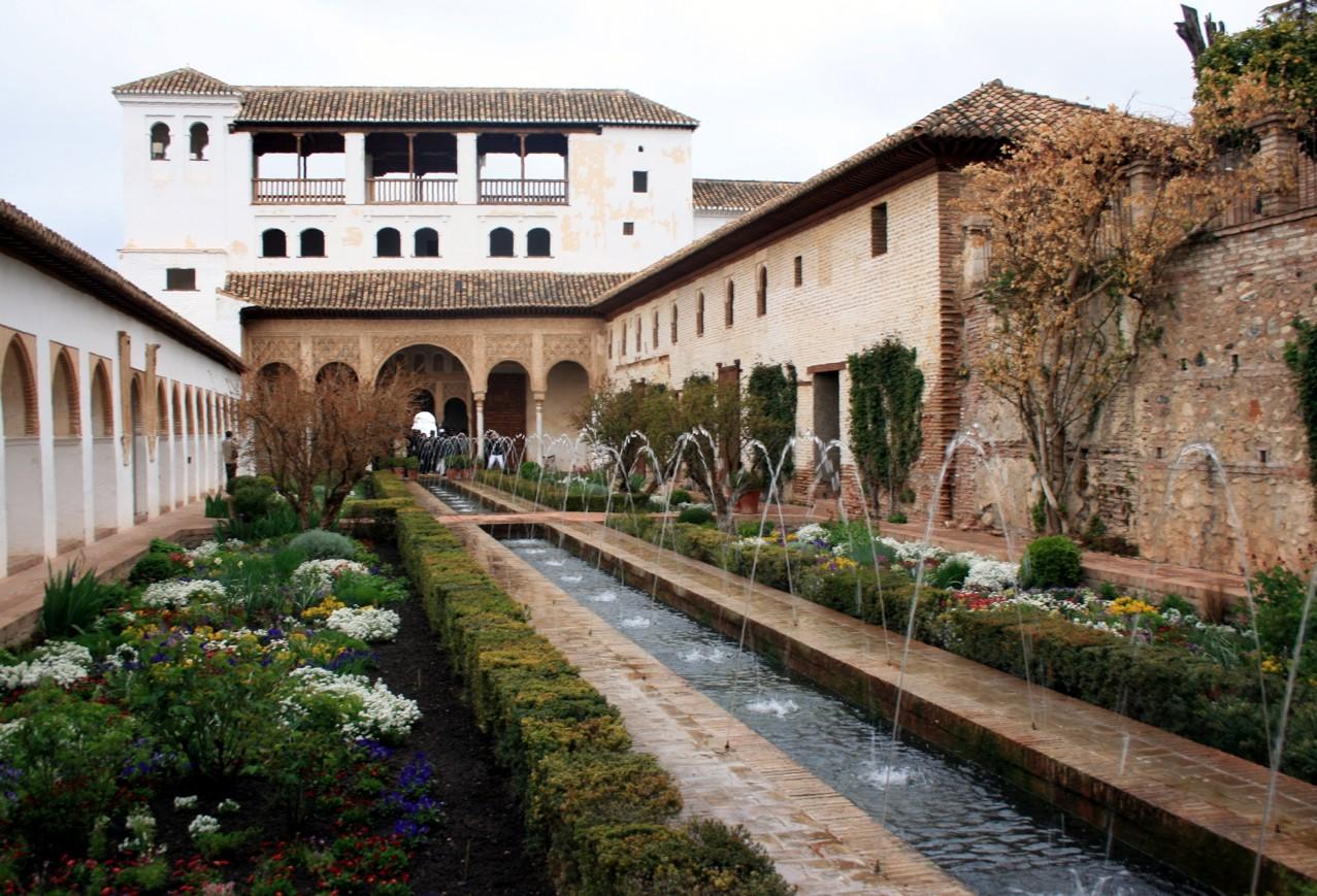 El generalife tu blog de viajes for Decoracion jardin granada